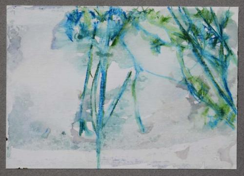Branches in spring - 15 x 20 cm