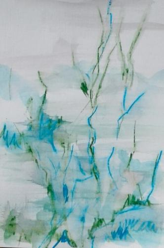 Branches waterpastel on paper II (21 x 30 cm)
